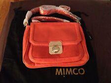 MIMCO BNWT Taylor Satchel Bag Handbag in Dark Coral RRP $499