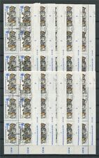 DDR 3081 II DV LEIPZIGER MESSE 1987 PF II + DRUCKVERMERK gepr BPP 10 STÜCK m643