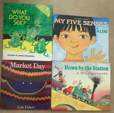 """LOT OF 9 TEACHER'S """"BIG BOOKS"""" LARGE FORMAT PB PICTURE BOOKS FOR PRE-SCHOOLERS"""