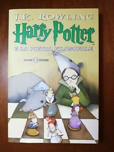 HARRY POTTER E LA PIETRA FILOSOFALE SALANI BROSSURA 1 PRIMA EDIZIONE 2009 LIBRO