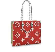 Louis Vuitton OnTheGo Tote Bag - Red Monogram (M44569)