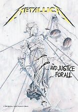 Metallica ...and Justice For All Textile Poster Flag 75x110cm HEART ROCK