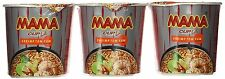 Mama Instant Noodles Creamy Tom Yum Shrimp Flavor Thai Original Spicy 6 Cups