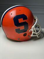 Syracuse University Orange Vintage Team Issued NCAA Football Helmet