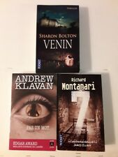 Lot de livres (Thrillers)
