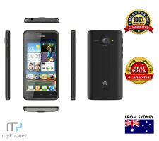 Huawei Ascend Y330 Black 4.0'' 3MP 3G Android v4.4 Unlocked Cheap SmartPhone OZ