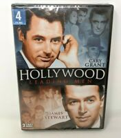 New & Sealed Hollywood Leading Men: Cary Grant and James Stewart DVD 4 Films
