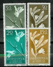 Spain SAHARA Scott # 78/79 B37/38 ** MNH Set. Flowers