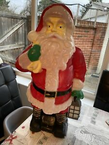 Rare Santa Christmas Blow Mold