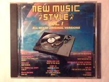 CD New music style vol. I D.J. HERBIE UTAH SAINTS BLACK MACHINE JOHANNA CUBIC 22