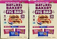 [2 Packs] Nature's Bakery Fig Bar, Variety Pack, 2 oz, 36-count