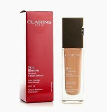 CLARINS Foundation 117 Hazelnut SKIN illusion Mineral Plant Extracts NIB