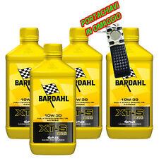 4 LITROS ACEITE MOTOR 4 TIEMPOS Bardahl Bardhal XT-S XTS C60 10W30 + HOMENAJE