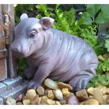 Miniature Dollhouse Fairy Garden - Harriet the Hippo - Accessories