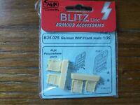 New CMK Blitz Line Armour Accessories B35075 German WWII Tank Seats 1/35 Scale