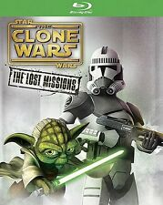 Star Wars: The Clone Wars - The Lost Missions | New Sealed | Blu-ray Region Free