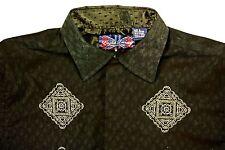 English Laundry Men's 100% Cotton Long Sleeve L/S Shirt sz L (HCR)