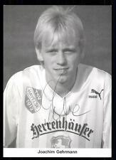 Joachim Gehrmann Autogrammkarte TSV Havelse Original Signiert+A 94825
