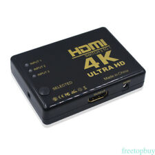 Ultra HD 4K*2K HDMI Switch Switcher Splitter Box HDTV 1080p Auto 3 IN 1 OUT