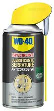 WD40 lubrificante spray anticorrosivo per serrature 250ml