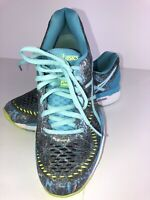 Womens Aqua Asics Gel Kayano Limited Ed Running Shoes SZ 6.5, T6AN5, Nice.