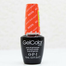 OPI GelColor Soak Off LED/UV Gel Nail NEON Color 0.5 oz Juice Bar Hopping #GCN35