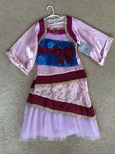 Nwt Disney Store Mulan Costume Girls 5/6