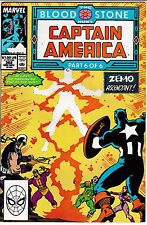 CAPTAIN AMERICA 362 VOL 1 Marvel N/M Never Read New Old Stock Blood & Stone Pt 6