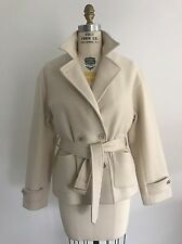 Ralph Lauren Collection Women's Winter White Peacoat -Size 8