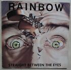 VINYLE 33 TOURS RAINBOW STRAIGHT BETWEEN THE EYES 2391542 GER 1982 LP INSERT