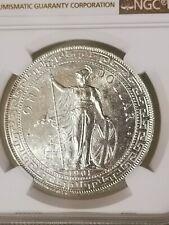 1901C Great Britain Trade Dollar NGC UNC Details Lustrous!!
