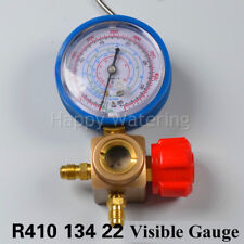 Visible Automotive Car Air Conditioning Refrigeration Tools Pressure Dia Guage