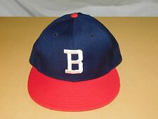 VINTAGE BASEBALL HAT CAP BOSTON BRAVES    NEW ERA PRO MODEL  WOOL NEW NOS