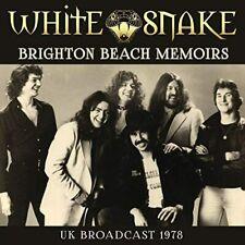 WHITESNAKE Brighton Beach Memoirs CD NEW & SEALED Live 1978 David Coverdale