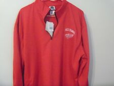 RED WINGS 1/4 ZIP SIZE XLARGE  PULLOVER NWT