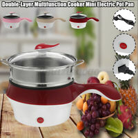 Multifunction Cooker Pan Double-Layer Cooker Electric Pot Pan Steamer Pot Rice