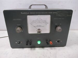 Heathkit PS-3 Variable Voltage Regulated Power Supply