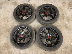 "Honda Civic Type R Ep3 17"" Alloy Wheels. 5x114 5 X 114.3 Alloys"