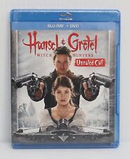 Hansel & Gretel: Witch Hunters (Blu-ray/DVD, 2013, 2-Disc Set)