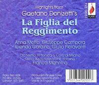 Gaetano Donizetti - La Figlia Del Reggimento - Highlights (Moffa) [CD]