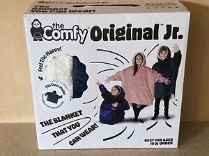 THE COMFY Original JR | The Original Oversized Sherpa Wearable Blanket for Kids
