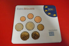 * Grecia Euro KMS 2002 * 1 cent - 2 EURO IN BLISTER