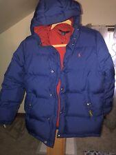 Ralph Lauren Big Boys Down Puffer Coat. Large, Navy Clean & Barely Worn