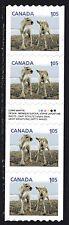2012 Canada SC# 2507i Baby Caribou Gutter Strip of 4 Lot C425 M-NH w.inscription