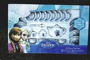 Disney  Frozen 30 Piece Ceramic  Tea Set New Boxed , Disney licensed product