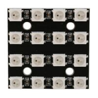 WS2812B 4x4 16-Bit Full Color 5050 RGB LED Lamp Panel Light for Arduino E3Q4