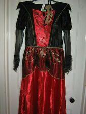 GIRLS HALLOWEEN VAMPIRESS COSTUME/FANCYDRESS 13-14 YEARS NEW BNWT