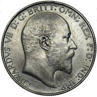 1906 FLORIN - EDWARD VII BRITISH SILVER COIN - V NICE
