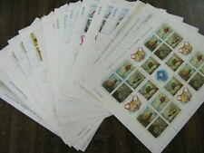 Caribbean Stamps # 688-700 Xf Og Nh Full Sheets And Sets