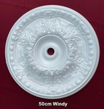 Ceiling Rose Polystyrene Easy Fit Very Light Weight From 50cm Windy Fast shippin